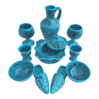 Turquoise Turkish Tile Sets