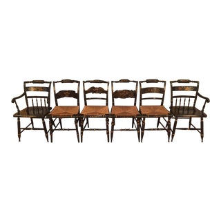 Hitchcock Dining Chairs - Set of 6