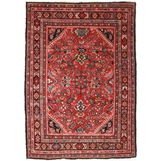Antique Persian Mahal Rug - 7′4″ × 10′6″