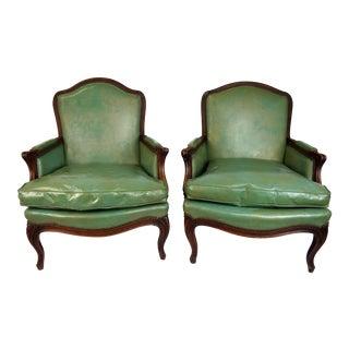 Louis XV Style Bergères - A Pair