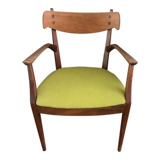 Mid-Century Wood Side Chair