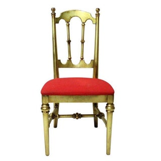Gilded Drexel Vanity Chair
