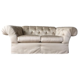 MIKE Vintage Traditional Tufted Loveseat