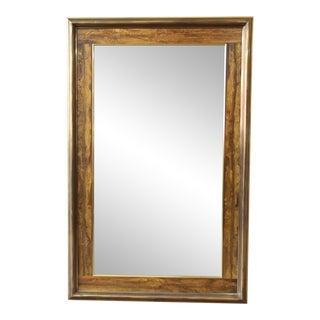 Bernhard Rohne for Mastercraft Acid-Etched Frame Bevelled Mirror