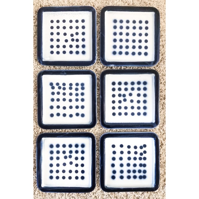 Roger Capron Tile Wall Hangings - Set of 6 - Image 2 of 3