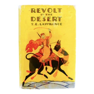 """Revolt In the Desert"" Book by T.E. Lawrence, 1927"