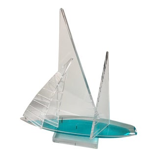 Michael George Contemporary Acrylic Kinetic Sculpture
