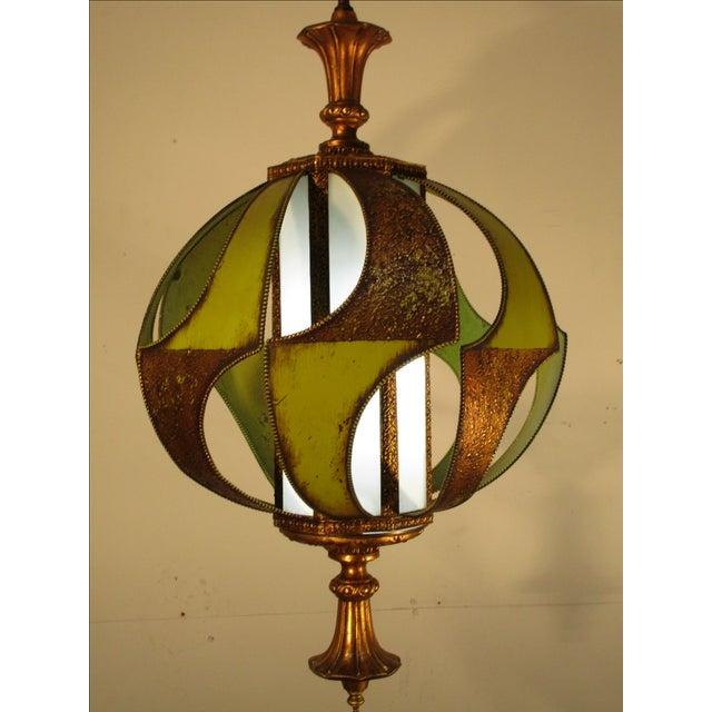 Vintage Classic 1960's Decorative Light Fixture - Image 5 of 6