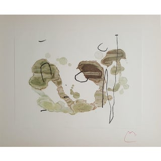 """""""Trace on the Water"""" Lithograph by Joan Miró"""