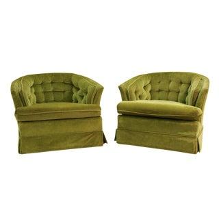 Mid Century Modern Sloane Chairs - Pair