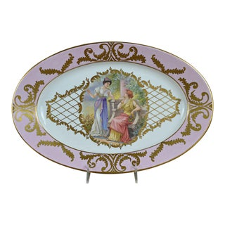 Continental Transfer Portrait Platter
