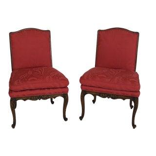 Louis XVI Side Chairs - A Pair