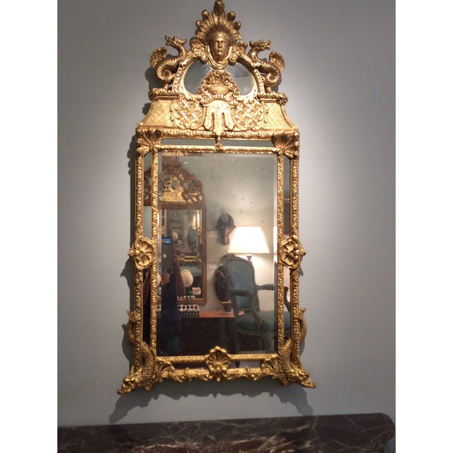 Antique Early 18th Century French Mirror - Image 2 of 5