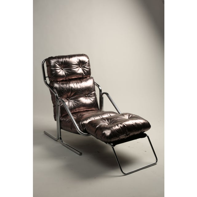 1970s Jerry Johnson Lounger - Image 2 of 4