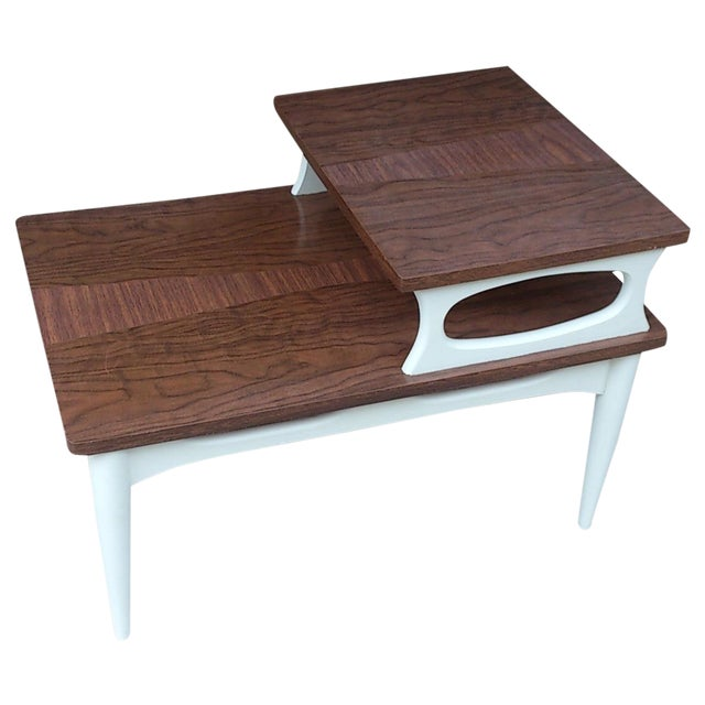 Image of Mid-Century Two Level End Table