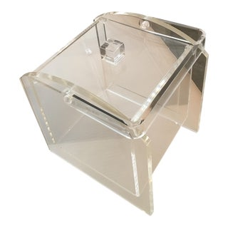 Vintage Mid-Century Modern Lucite Ice Bucket