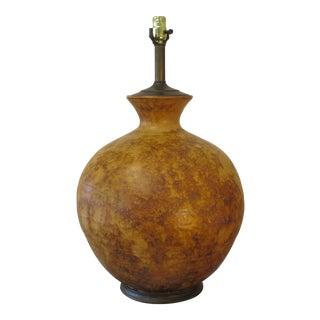 Mid-Century Ceramic Glazed Table Lamp