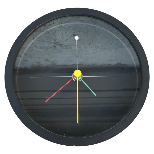 Image of Syohei Mihara Vintage Wakita Memphis Wall Clock