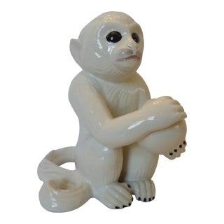 Vintage Italian Ceramic Monkey