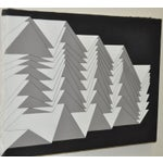 Image of 1988 Charles Hersey Vintage Geometric Painting