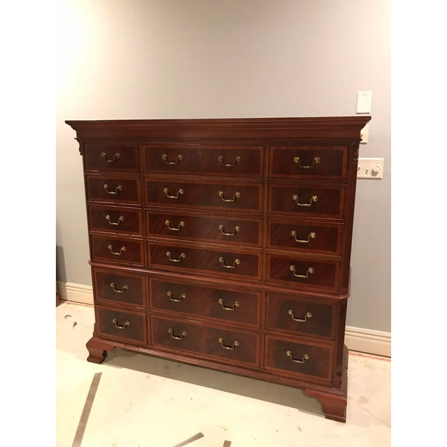 Ethan Allen 18-Drawer Chest - Image 2 of 9