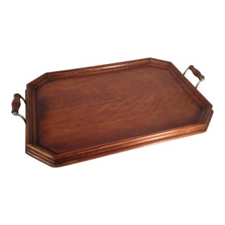 English Wood Serving Tray