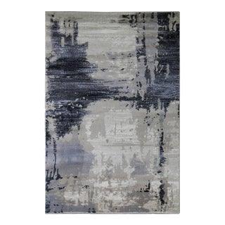 Abstract Area Rug Brown - 5'3'' x 7'7''