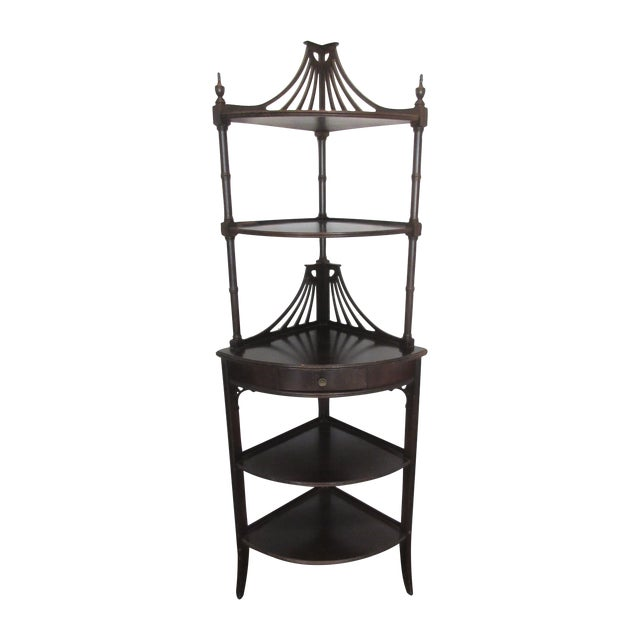 Antique Chippendale Five Tiered Etagere - Image 1 of 11