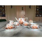 Image of Herend Fortuna Pattern Tea Set - Set of 7