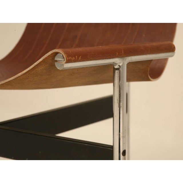 "Original Vintage ""T"" Chair by Katavolos, Kelly & Littell for Laverne International - Image 3 of 11"