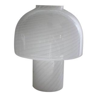 Large Murano Mushroom Table Lamp By Vistosi