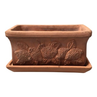 Terra Cotta Herb Planter