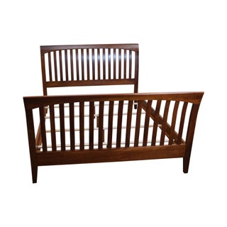 Traditional Ethan Allen American Impressions Solid Cherry Queen Size Bed