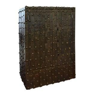 18th Century Hobnail Puzzle Safe