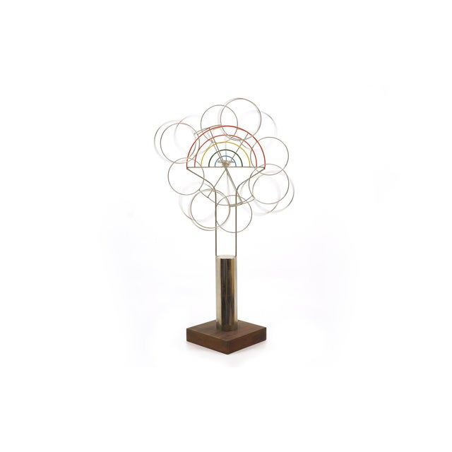 Image of Joseph Burlini Kinetic Sculpture