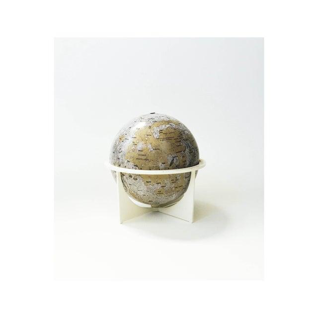 Mid-Century Tin Moon Globe - Image 2 of 5