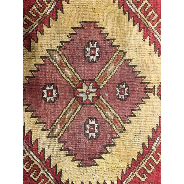 "Bellwether Rugs Vintage Turkish Oushak Runner - 5'x11'3"" - Image 7 of 8"