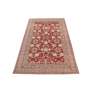 Hand Knotted Multi Color Rug - 5' x 8'3""