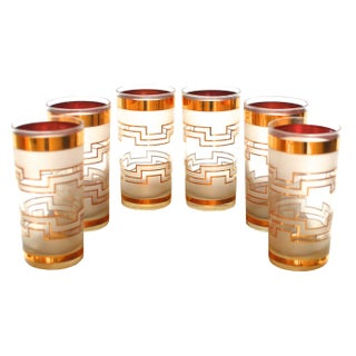 Mid-Century Modern Culver Highball Glasses - 6