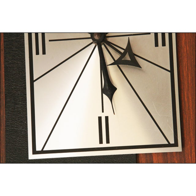1960s Danish Modern George Nelson Style Wall Clock - Image 11 of 11