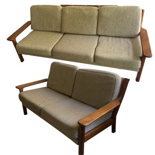 Swedish Style Sofa and Love Seat