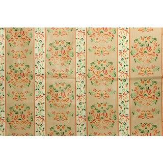 Vintage Gisele Glazed Chintz Floral & Butterfly Pattern Fabric