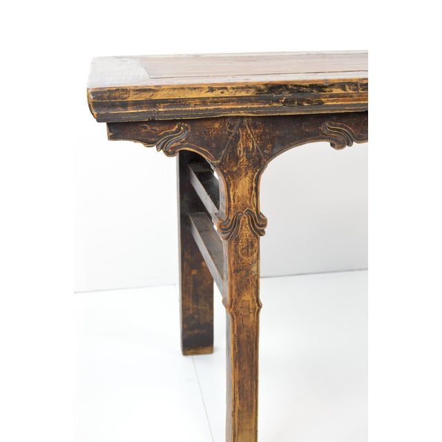 Rustic Antique Chinese Console Table - Image 5 of 10