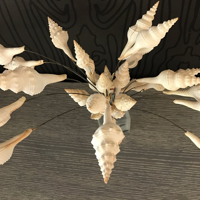 Seashell Bouquet Sculpture - Image 5 of 8