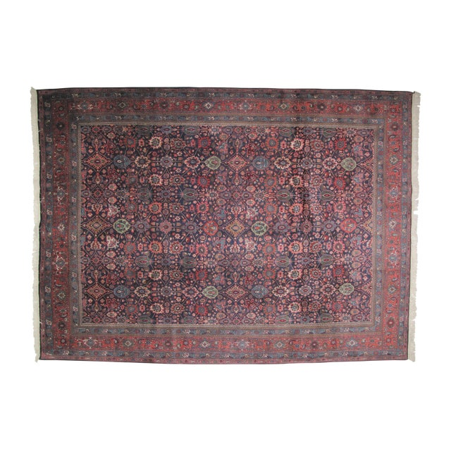 "Bijar Carpet - 11'10"" X 8'9"" - Image 1 of 6"