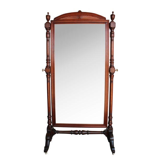 Antique Freestanding Dressing Mirror - Image 1 of 5