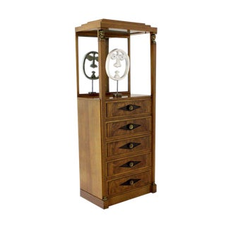 Empire Vitrine Light Up Display Cabinet or Chest of Drawers