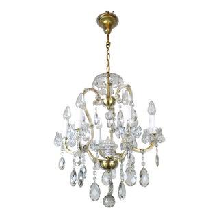 "Louis XVI ""Mary Teresa"" Style Cut Crystal Chandelier"