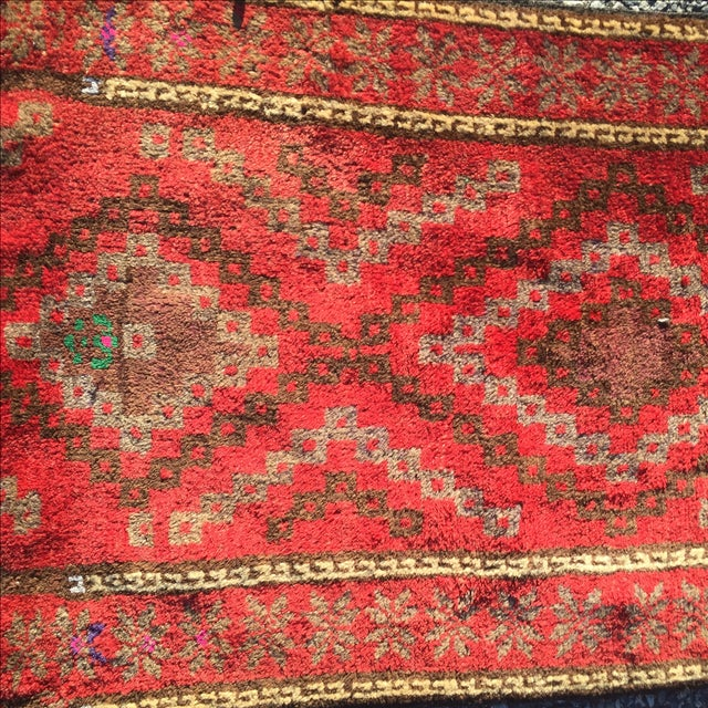 "Baluchi Persian Rug - 1'9"" X 2'10"" - Image 4 of 6"