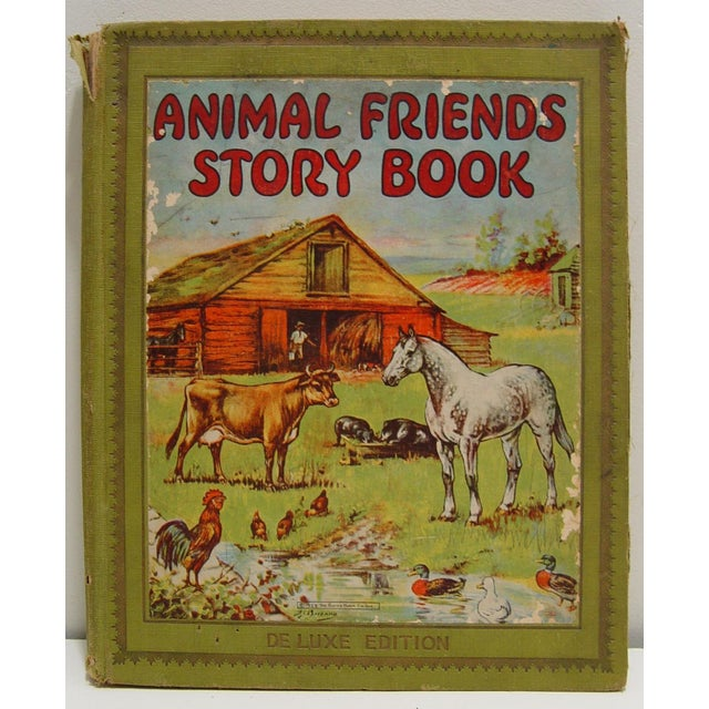 1928 Animal Friends Story Book - Image 2 of 10